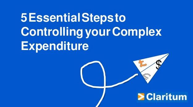 5 essential steps for Chief Procurement Officers to control complex expenditure