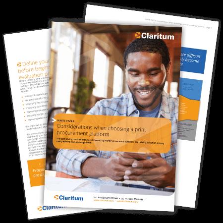 Choosing a Print Procurement System Claritum