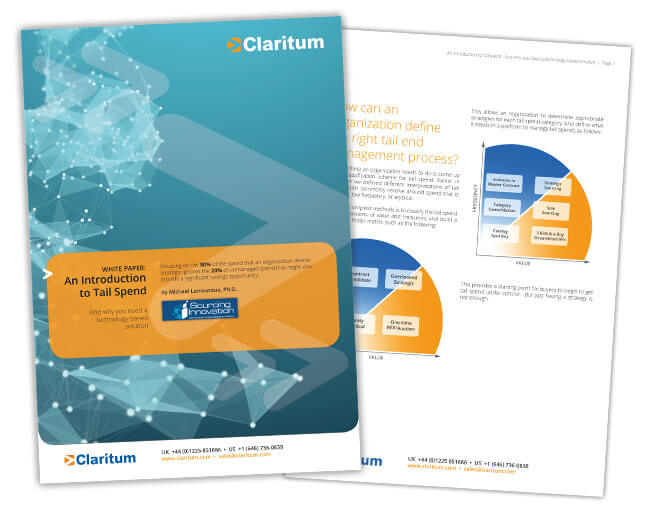 Introduction to Tail Spend White Paper Claritum