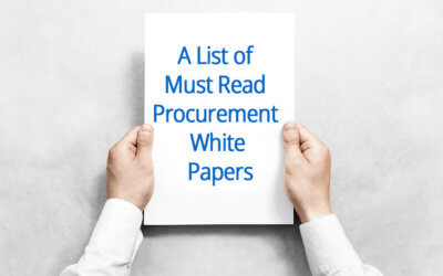 A List of Must Read Procurement White Papers