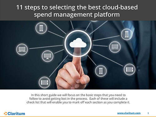 11 steps to selecting the best cloud based spend management platforms