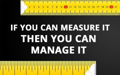 If you can measure it then you can manage it