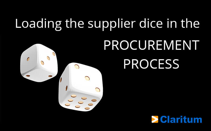 Procurement process loading the dice