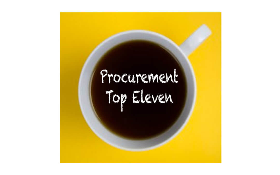 Claritum's top eleven Procurement predictions for 2020