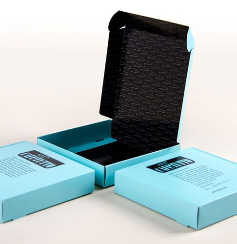 Kadimah folded cardboard box